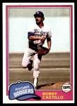 1981 Topps #146  Bobby Castillo  Front Thumbnail