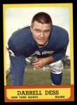 1963 Topps #54  Darrell Dess  Front Thumbnail