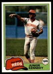 1981 Topps #447  Junior Kennedy  Front Thumbnail