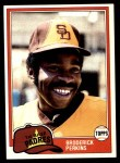 1981 Topps #393  Broderick Perkins  Front Thumbnail