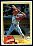 1981 Topps #353  Terry Kennedy  Front Thumbnail