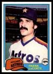 1981 Topps #513  Frank LaCorte  Front Thumbnail