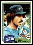 1981 Topps #466  Bob Molinaro  Front Thumbnail