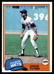 1981 Topps #634  Doug Flynn  Front Thumbnail
