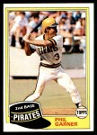 1981 Topps #573  Phil Garner  Front Thumbnail