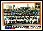 1981 Topps #665   Indians Team Checklist Front Thumbnail