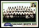 1981 Topps #664   White Sox Team Checklist Front Thumbnail