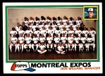 1981 Topps #680   Expos Team Checklist Front Thumbnail