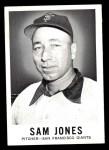 1960 Leaf #14  Sam Jones  Front Thumbnail