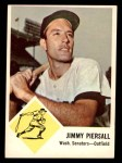 1963 Fleer #29  Jimmy Piersall  Front Thumbnail