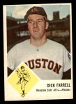 1963 Fleer #38  Dick Farrell  Front Thumbnail