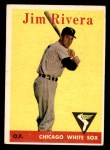 1958 Topps #11 WT Jim Rivera  Front Thumbnail