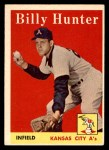 1958 Topps #98 ^WN^ Billy Hunter  Front Thumbnail