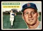 1956 Topps #115  Jackie Jensen  Front Thumbnail