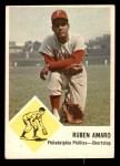 1963 Fleer #50  Ruben Amaro  Front Thumbnail