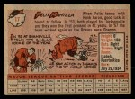 1958 Topps #17  Felix Mantilla  Back Thumbnail