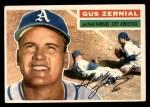 1956 Topps #45  Gus Zernial  Front Thumbnail