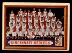 1957 Topps #322   Reds Team Front Thumbnail