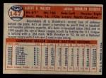 1957 Topps #147  Al Walker  Back Thumbnail