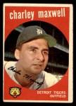 1959 Topps #481  Charley Maxwell  Front Thumbnail