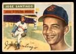 1956 Topps #59  Jose Santiago  Front Thumbnail