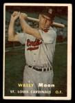 1957 Topps #65  Wally Moon  Front Thumbnail