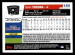 2006 Topps #180  Mark Teixeira  Back Thumbnail