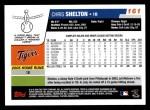 2006 Topps #161  Chris Shelton  Back Thumbnail