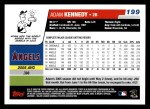 2006 Topps #199  Adam Kennedy  Back Thumbnail