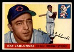 1955 Topps #56 DOT Ray Jablonski  Front Thumbnail