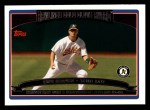 2006 Topps #247   -  Eric Chavez Golden Glove Award Front Thumbnail