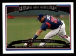 2006 Topps #257   -  Andruw Jones Golden Glove Award Front Thumbnail