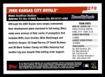 2006 Topps #278   Kansas City Royals Team Back Thumbnail