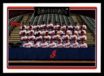 2006 Topps #273   Cleveland Indians Team Front Thumbnail