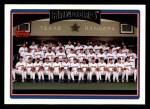2006 Topps #293   -  Texas Rangers Toronto Blue Jays Team Front Thumbnail