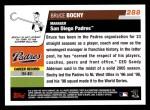 2006 Topps #288  Bruce Bochy  Back Thumbnail