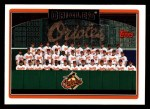 2006 Topps #268   Baltimore Orioles Team Front Thumbnail