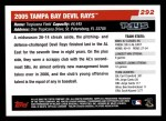 2006 Topps #292   Tampa Bay Devil Rays Team Back Thumbnail