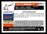 2006 Topps #301  Charlton Jimerson  Back Thumbnail