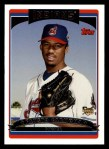 2006 Topps #308   -  Fausto Carmona Rookie Card Front Thumbnail