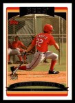 2006 Topps #302   -  Chris Denorfia Rookie Card Front Thumbnail