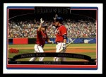2006 Topps #328   -  Marcus Giles / Chipper Jones Team Stars Front Thumbnail