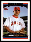 2006 Topps #311   -  Joe Saunders Rookie Card Front Thumbnail