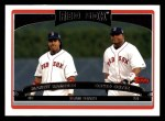 2006 Topps #329  Manny Ramirez / David Ortiz  Front Thumbnail