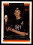 2006 Topps #304   -  Bryan Bullington Rookie Card Front Thumbnail