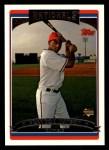 2006 Topps #324   -  Brandon Watson Rookie Card Front Thumbnail