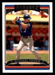 2006 Topps #337  Michael Young  Front Thumbnail
