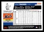 2006 Topps #382  Steve Trachsel  Back Thumbnail