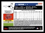 2006 Topps #350  Joe Nathan  Back Thumbnail