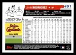 2006 Topps #491  John Rodriguez  Back Thumbnail